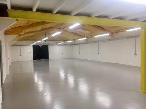 Shiny new empty office space